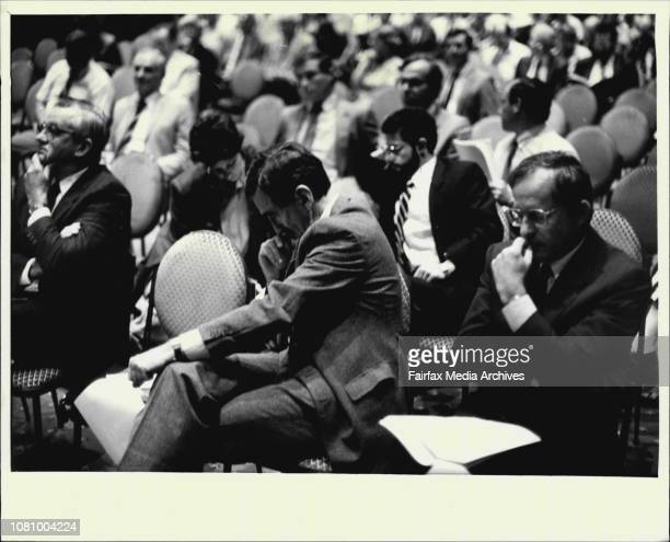 Ampol Extraordinary General Meeting at Sheraton HotelCrowd pics on the floor March 18 1987