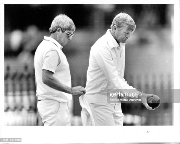 Ampol Master of Champions Lawn Bowling at City Bowling Club Semi FinalsBarry Salter Waratah vs Phil Bushby Merrylands Salter favourite to win comp...