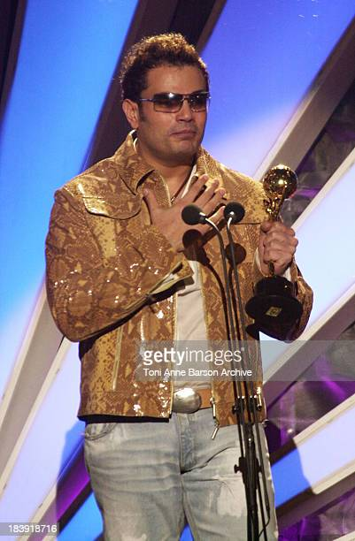 Amr Diab during World Music Awards 2002 Show at Monte Carlo Sporting Club in MonteCarlo Monaco