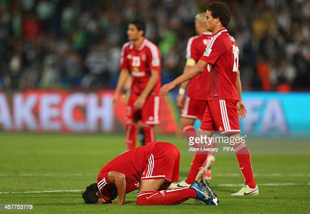 Amr Gamal of Al Ahly SC after the FIFA Club World Cup 5th place match between Al Ahly SC and CF Monterrey at the Marrakech Stadium on December 18...