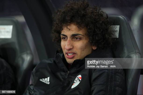 Amr Warda of Egypt during the International Friendly match between Portugal and Egypt at Stadion Letzigrund on March 23 2018 in Zurich Switzerland