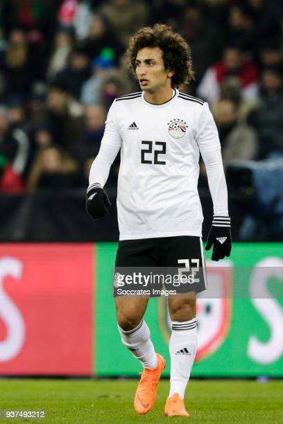 Amr Warda of Egypt during the International Friendly match between Egypt v Portugal at the Letzigrund Stadium on March 23 2018 in Zurich Switzerland