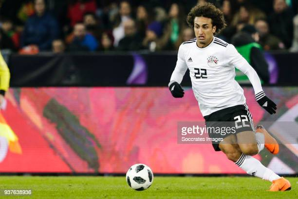 Amr Warda of Egypt during the International Friendly match between Egypt v Portugal at the Letzigrund Stadium on March 23 2018 in Zurich Switzerland