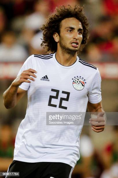 Amr Warda of Egypt during the International Friendly match between Belgium v Egypt at the Koning Boudewijnstadion on June 6 2018 in Brussel Belgium