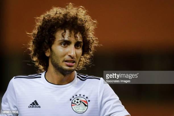 Amr Warda of Egypt during the International Friendly match between Belgium v Egypt at the Koning Boudewijnstadion on June 6 2018 in Brussel Belgium