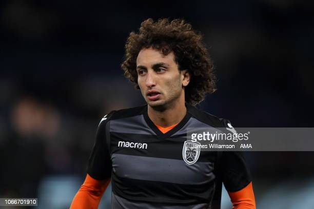 Amr Warda of PAOK Thessaloniki during the UEFA Europa League Group L match between Chelsea and PAOK at Stamford Bridge on November 29 2018 in London...