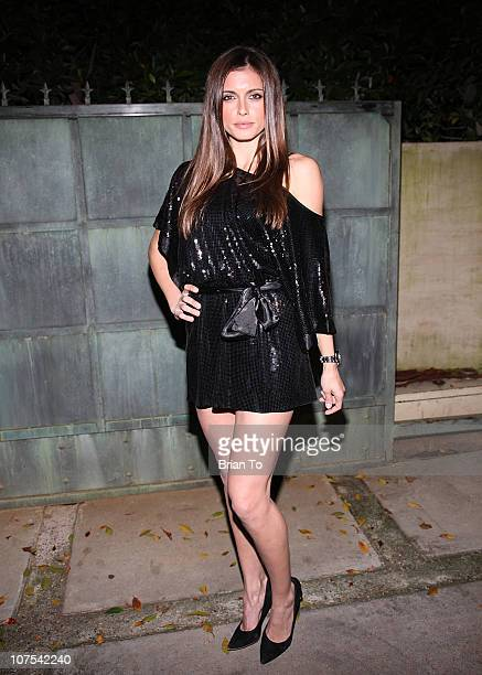 Amra Silajdzic attends 9021HO HO HO Toy Drive benefiting Toys for Tots on December 11 2010 in Los Angeles California