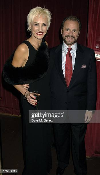 AmraFaye Wright and producer Barry Weissler attend the Chicago The Musical celebrity party to celebrate the West End transfer of the popular musical...
