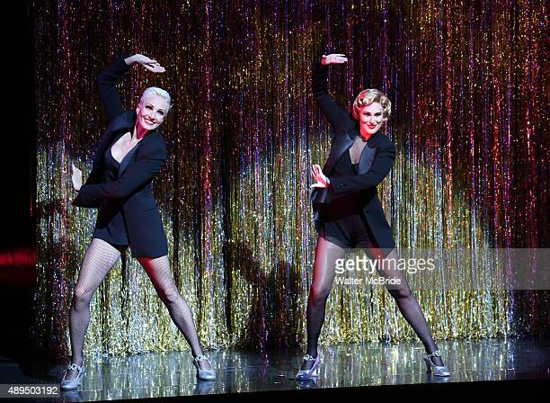 AmraFaye Wright with Rumer Willis making her Broadway debut as Roxie Hart in 'Chicago' at the Ambassador Theatre on September 21 2015 in New York City