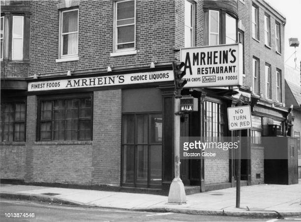 Amrheins Restaurant in South Boston is pictured on March 11 1983