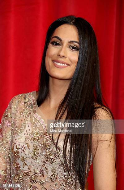 Amrit Maghera attends the British Soap Awards 2016 at Hackney Empire on May 28 2016 in London England