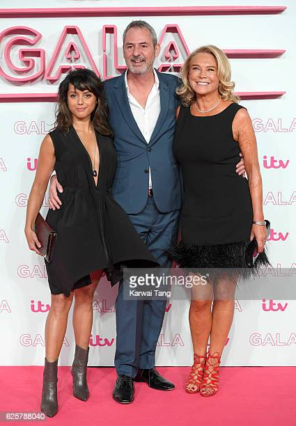 Amrita Acharia Neil Morrissey and Amanda Redman attend the ITV Gala at London Palladium on November 24 2016 in London England