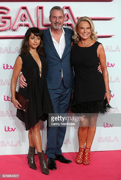Amrita Acharia Neil Morrissey and Amanda Redman attends the ITV Gala at London Palladium on November 24 2016 in London England