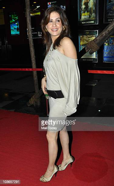Amrita Raichand during the premiere of the film 'Aashayein' in Mumbai on August 26 2010