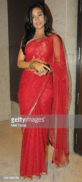 Amrita Rao at designer AD Singh's sangeet ceremony in Mumbai on October 18 2010