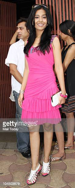 Amrita Rao at the wedding brunch of Ramesh Taurani's daughter Nisha in Mumbai on September 26 2010