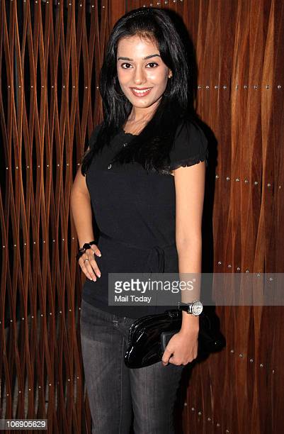 Amrita Rao attends the �Signature MTV Making the Cut� party in Mumbai on November 15 2010