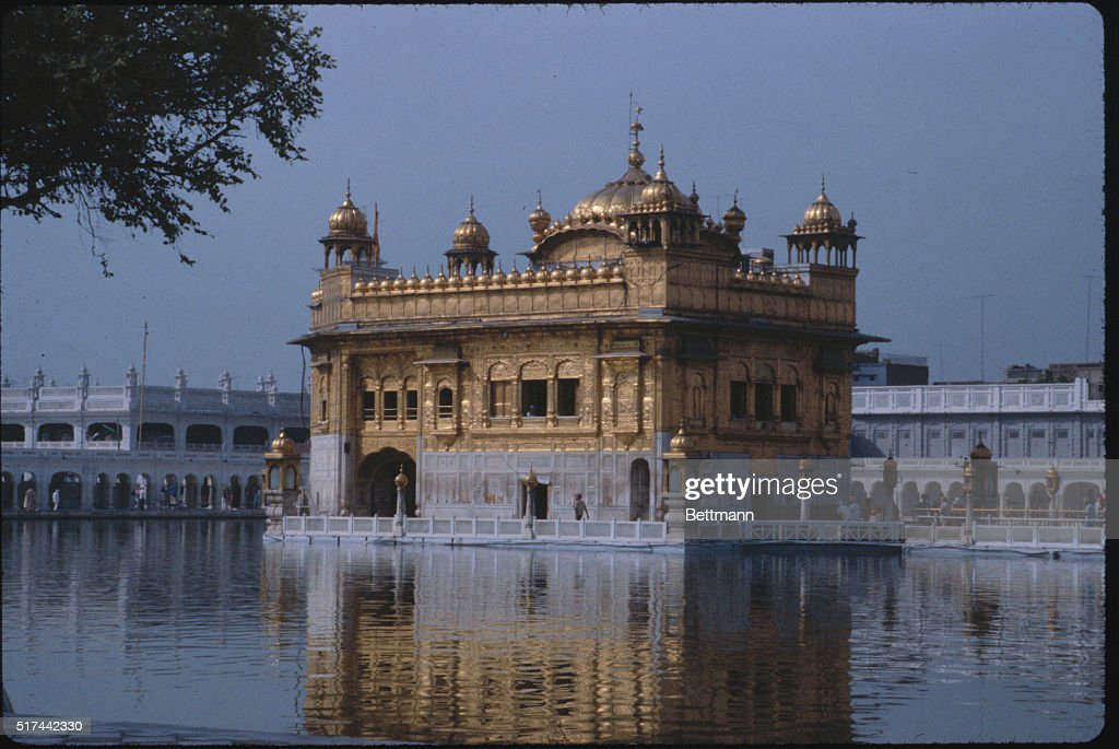 Golden Sikh temple at Amritsar Punjab India