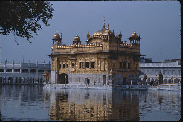 Golden Sikh temple at Amritsar Punjab India