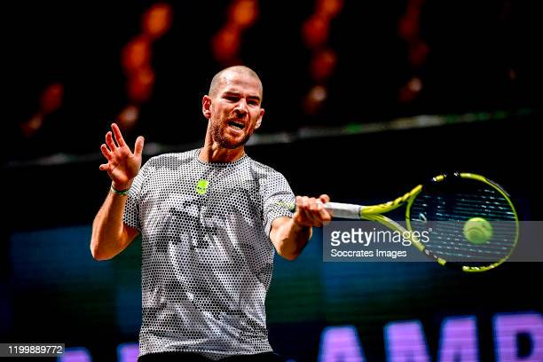 Amro WTT Adrian MANNARINO during the ABN Amro WTT at the Ahoy on February 10, 2020 in Rotterdam Netherlands