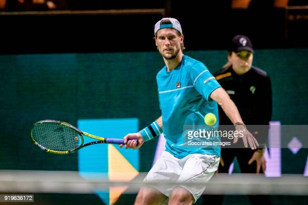 Amro WTT Andreas Seppi during the ABN Amro World Tennis Tournament at the Rotterdam Ahoy on February 17 2018 in Rotterdam Netherlands