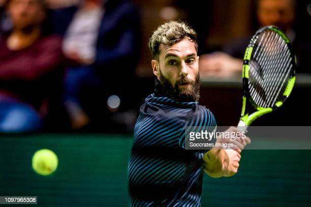 Amro WTT Benoit PAIRE during the ABN AMRO World Tennis Tournament at the Ahoy Rotterdam on February 11 2019 in Rotterdam Netherlands