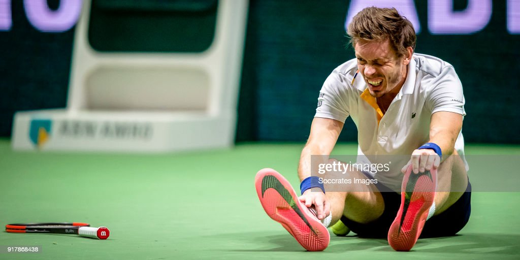ABN Amro World Tennis Tournament : News Photo