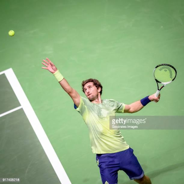 Amro WTT Mischa Zverev during the ABN Amro World Tennis Tournament at the Rotterdam Ahoy on February 12 2018 in Rotterdam Netherlands