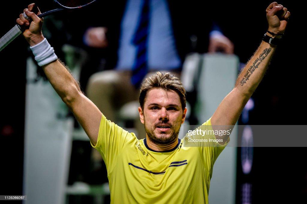ABN AMRO World Tennis Tournament : ニュース写真