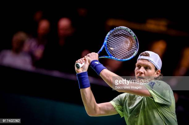Amro WTT Tomas Berdych during the ABN Amro World Tennis Tournament at the Rotterdam Ahoy on February 12 2018 in Rotterdam Netherlands