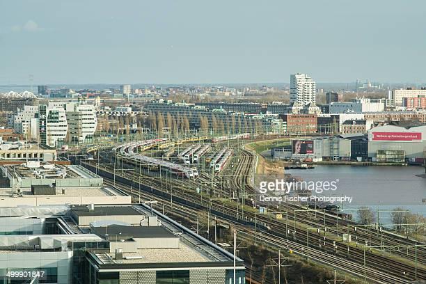 Amstedam trains and Rietlandpark