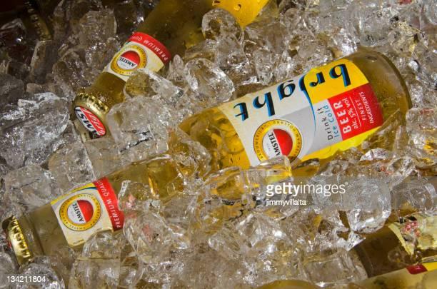 Amstel Bright beer