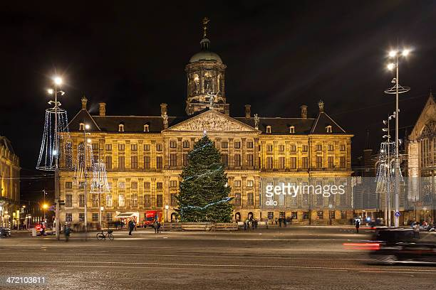 Amsterdam at night - Dam Square