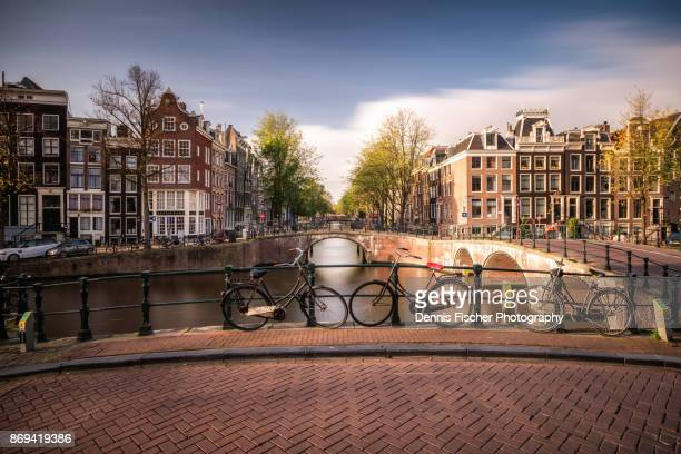 amsterdam bicycles - netherlands stock pictures, royalty-free photos & images