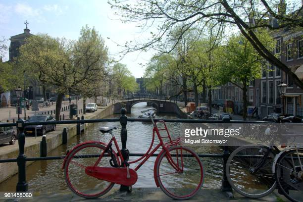 Amsterdam, bike and canals