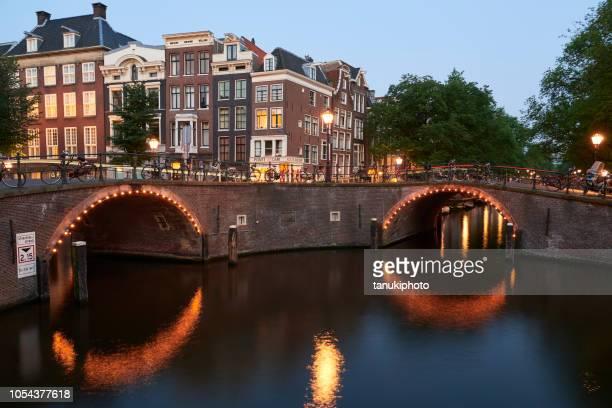 Amsterdam brug van 15 bruggen