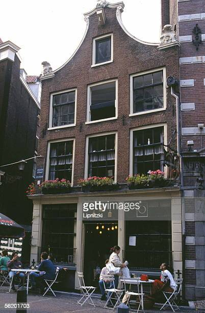 Amsterdam Cafe in the Graven Straat 1991