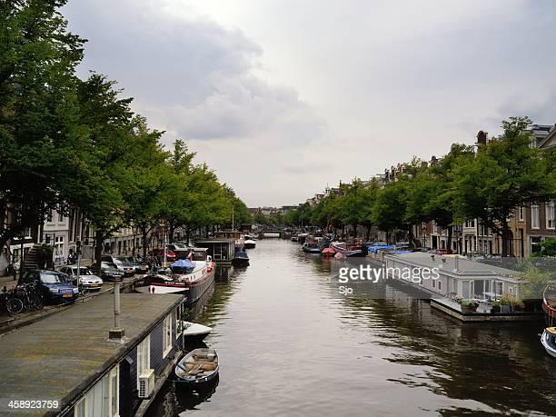 "canal de ámsterdam - ""sjoerd van der wal"" or ""sjo"" fotografías e imágenes de stock"