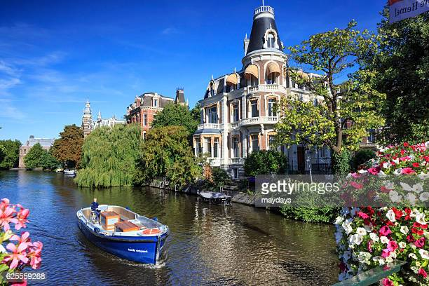 amsterdam canal - amsterdam stock pictures, royalty-free photos & images