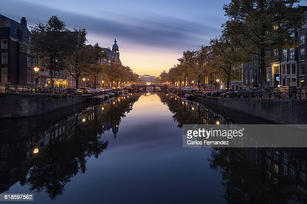 amsterdam canals - canal stock pictures, royalty-free photos & images