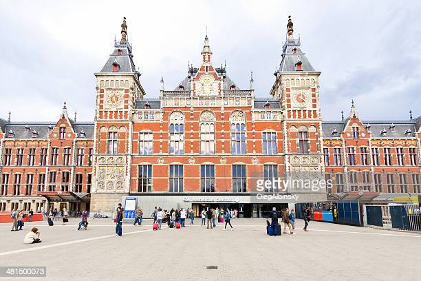 Amsterdam Centraal Railway Station.