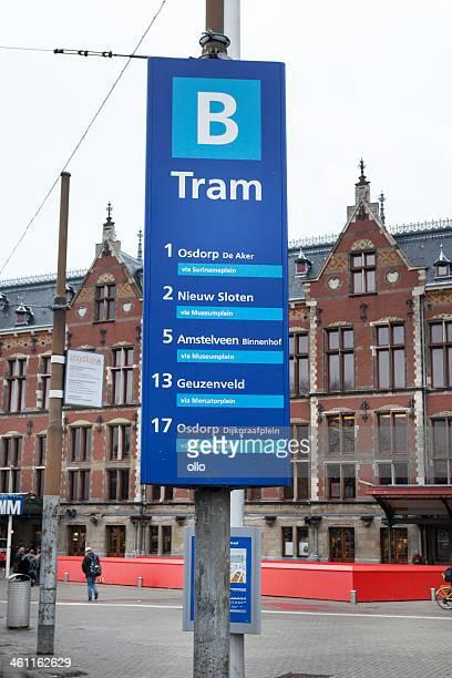 Amsterdam Centraal, del tranvía plataforma
