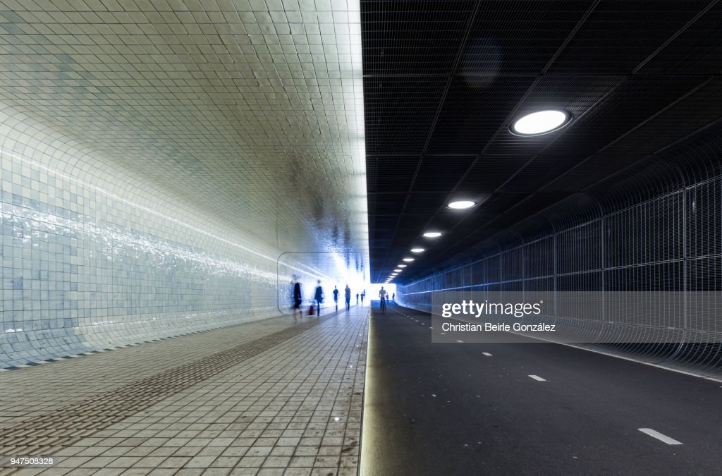 Amsterdam Centraal - Underpass : Stock Photo