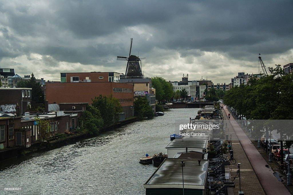 Amsterdam Channel : Stock Photo