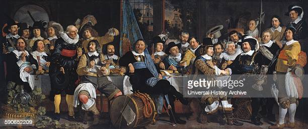 Amsterdam citizens celebrating the Peace of Munster 1648 painting by Bartholomeus van der Helst On 30 January 1648 the war ended with the Treaty of...