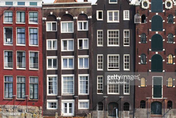 amsterdam city during summer in netherlands - capital cities stock pictures, royalty-free photos & images