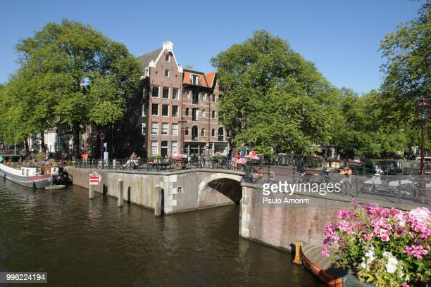 Amsterdam City During Summer