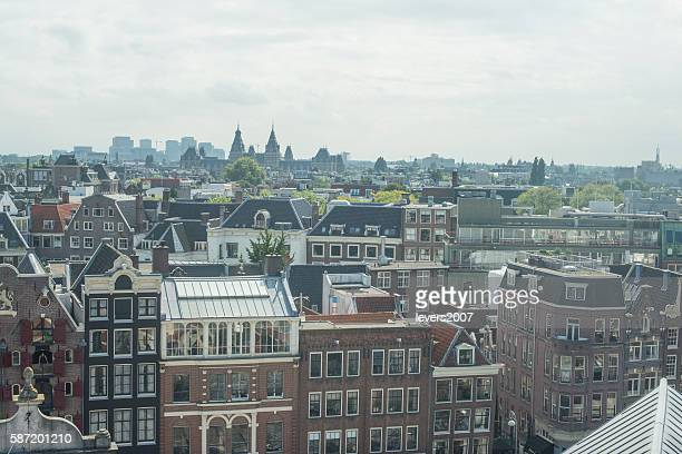 Amsterdam City from above