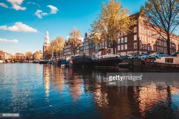 Amsterdam City Skyline