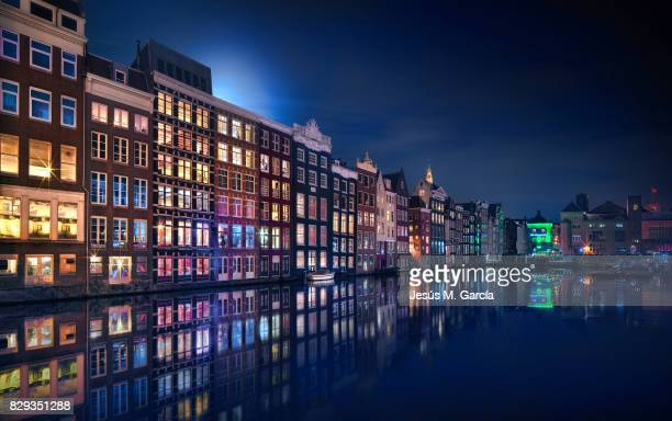 Amsterdam City Windows Colors